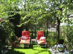 Garten-Ruhezone